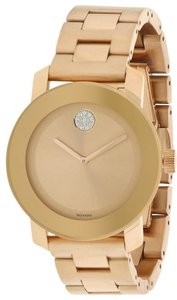 Movado Movado Bold Rose Gold Unisex Watch 360086