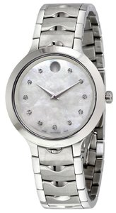 Movado Movado Luno Stainless Steel Ladies Watch 0607055