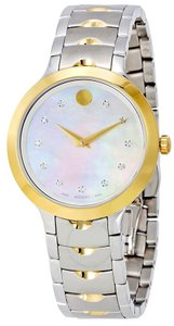 Movado Movado Luno Stainless Steel Ladies Watch 0607056