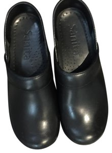 Sanita Style And Comfort Black Mules