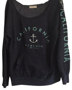 Ocean Drive Clothing Sweatshirt Navy Sweater