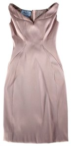 Prada Sheath Satin Audrey H Dress