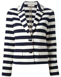 Tory Burch Blue/Off White Jacket