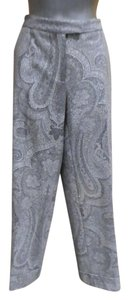 Etro Wide Leg Pants Gray