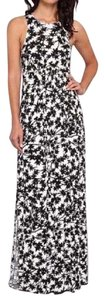 BLACK, WHITE Maxi Dress by Rachel Pally