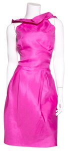 Lela Rose short dress Fuschia on Tradesy