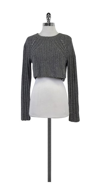 Preload https://img-static.tradesy.com/item/20987473/elizabeth-and-james-grey-wool-sweaterpullover-size-4-s-0-0-650-650.jpg