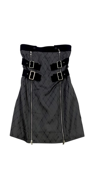 Preload https://img-static.tradesy.com/item/20987506/marc-by-marc-jacobs-grey-and-black-diamond-print-strapless-short-casual-dress-size-6-s-0-0-650-650.jpg