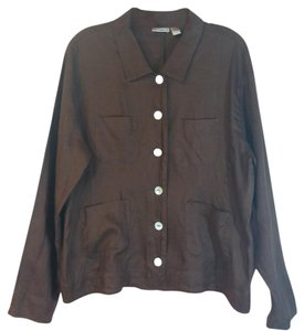 Putamayo Blouse Button-up Button Down Shirt Brown