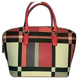 Other Satchel in RED & CREME