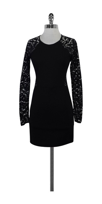 Preload https://img-static.tradesy.com/item/20987660/parker-black-long-sleeve-short-casual-dress-size-0-xs-0-0-650-650.jpg
