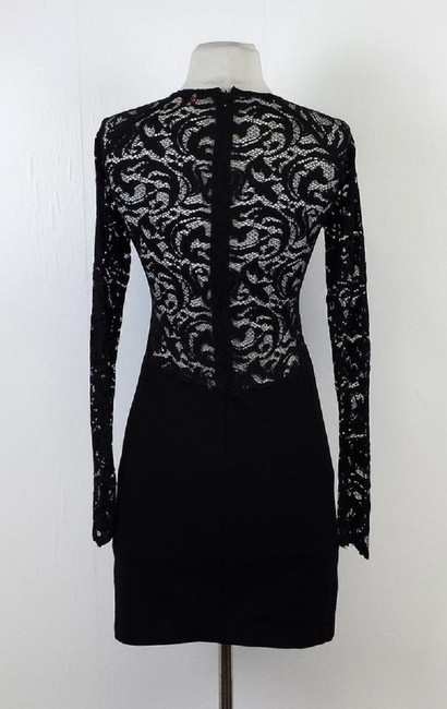 Parker short dress Black Long Sleeve on Tradesy
