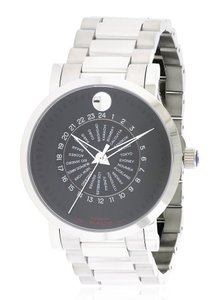 Movado Movado Red Label Automatic Stainless Steel Mens Watch 0606698 [606698]
