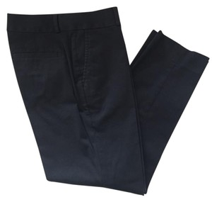 Banana Republic Sateen Business Casual Straight Pants Black
