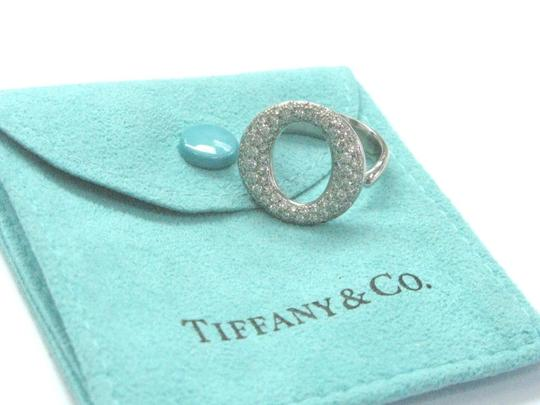 Tiffany & Co. Tiffany & Co Platinum Sevillana Diamond Ring .80CT