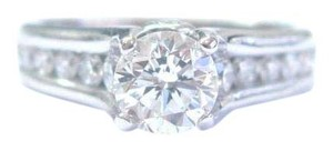 a jaffe A Jaffe Classic Channel Set Diamond Bezeled Profile Engagement Ring GI
