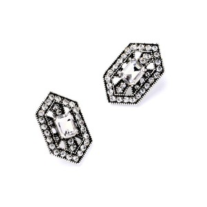 Other Deco Abstract Drop Stud Earrings