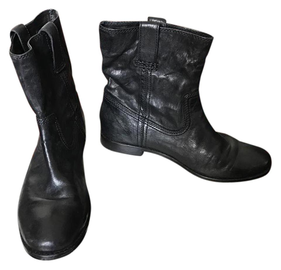 WOMENS Shortie Frye Black Anna Shortie WOMENS Boots/Booties Practical and economical b122d7