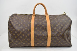 Louis Vuitton Keepall Keepall 55 M41424 Neverfull Lv Travel Brown Travel Bag