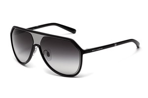 Dolce&Gabbana NEW Dolce Gabbana 6084 Gunmetal Matte Mirrored Aviator Sunglasses