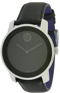 Movado Movado Bold Aluminum Leather Unisex Watch 3600072
