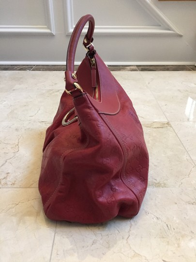 Gucci Leather D-ring Hobo Bag Image 2