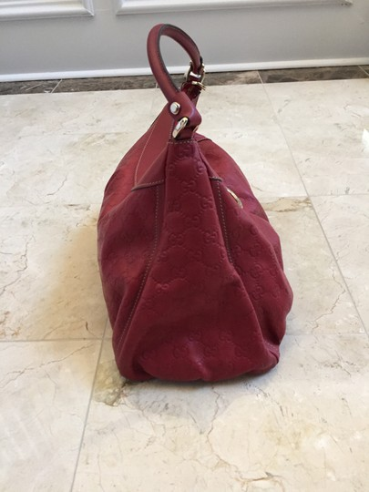 Gucci Leather D-ring Hobo Bag Image 4