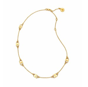 Tory Burch New Tory Burch Gemini Link Delicate Necklace