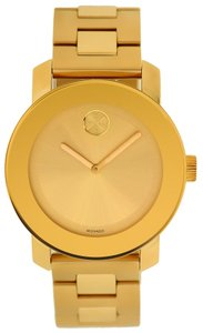 Movado Movado Bold Rose Gold-Tone Unisex Watch 3600188