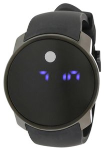 Movado Movado Bold Digital Black Silicone Unisex Watch 3600144