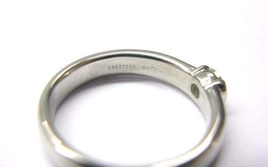 Tiffany & Co. Tiffany & Co Platinum Etoile Diamond Solitaire Ring 0.44CT