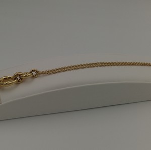 Gucci Gucci (Designer) Bamboo 18 K Solid Yellow Gold Necklace