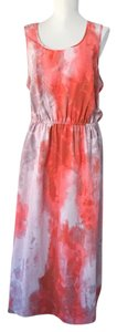 pink floral Maxi Dress by Sanctuary Clothing