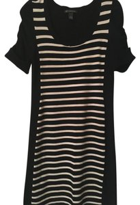 INC International Concepts short dress Black & White on Tradesy