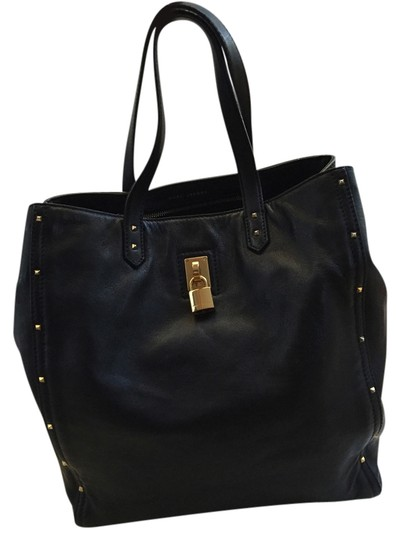 Preload https://item2.tradesy.com/images/marc-jacobs-leather-luggage-tote-bag-black-2098896-0-0.jpg?width=440&height=440