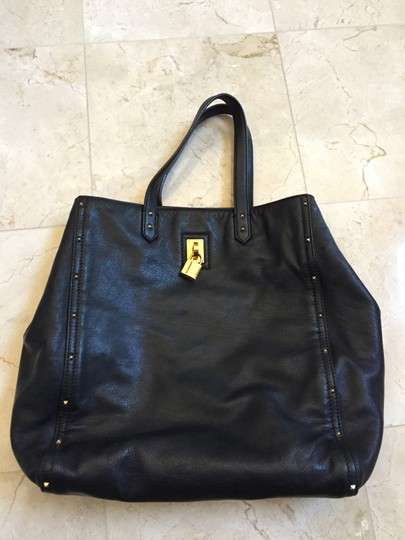 Marc Jacobs Leather Luggage Tote in Black Image 1