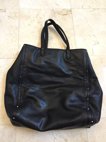 Marc Jacobs Leather Luggage Tote in Black Image 2