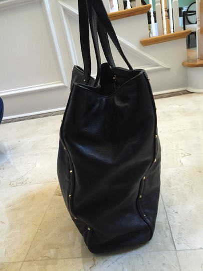 Marc Jacobs Leather Luggage Tote in Black Image 3