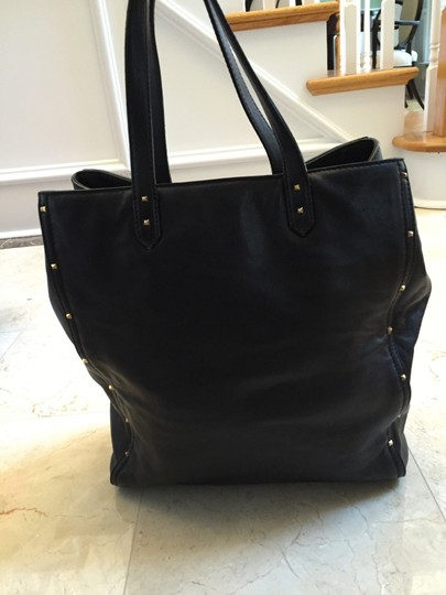 Marc Jacobs Leather Luggage Tote in Black Image 4