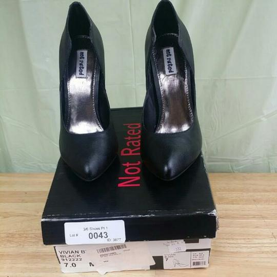 Not Rated Black Pumps