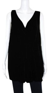 Eileen Fisher Xl 1x Top black velvet tank top