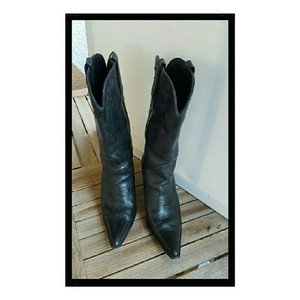 Charlie 1 Horse Boots by Lucchese Cowgirl Black Boots