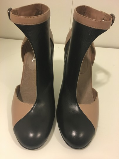 Chanel Black and camel Boots