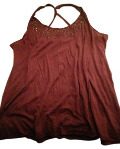 Maurices Summer Casual Top Maroon