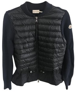 Moncler Light Weight Sweater New Navy Jacket