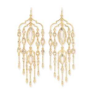 Kendra Scott Emma Shoulder Duster Earrings gold