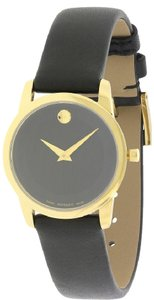 Movado Movado Museum Ladies Leather Watch 0606877 [606877]