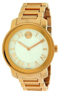 Movado Movado Bold Rose Gold-Tone Unisex Watch 3600200