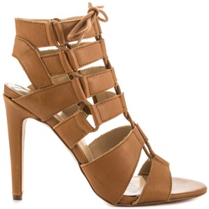 Dolce Vita Leather Gladiator Tan Sandals