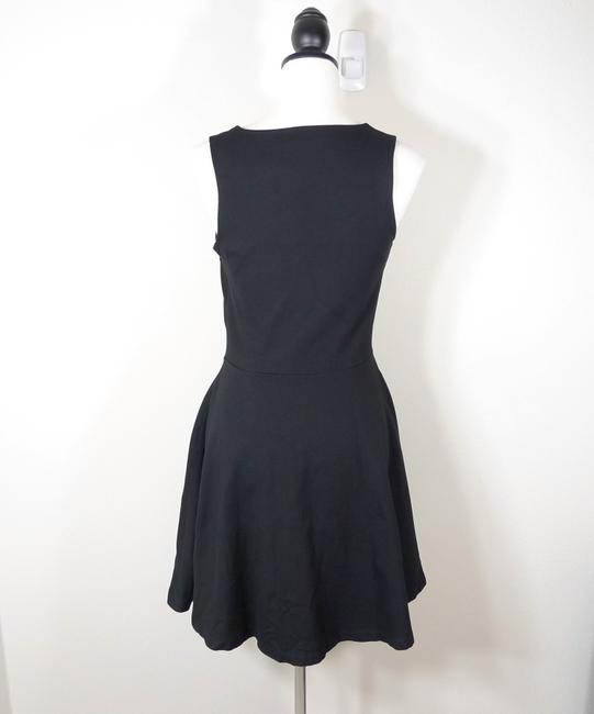 French Connection Fit Flare Color-blocking Dress